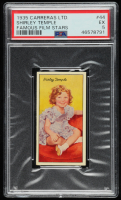 Shirley Temple 1935 Famous Film Stars #44 (PSA 5) at PristineAuction.com