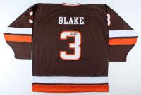 Rob Blake Signed Bowling Green Falcons Jersey (Beckett COA) at PristineAuction.com