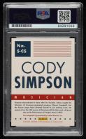 Cody Simpson Signed 2015 Americana #67 (PSA Encapsulated) at PristineAuction.com