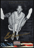 Bob Beamon Signed 2012 Americana Heroes and Legends #62 (Beckett COA) at PristineAuction.com