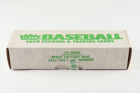 Complete Set of (670) 1988 Fleer Logo Stickers & Trading Cards Baseball Cards at PristineAuction.com