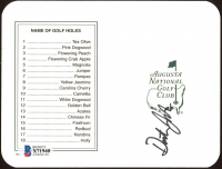 Dustin Johnson Signed Masters Augusta National Golf Club 5x6 Scorecard (Beckett COA) at PristineAuction.com