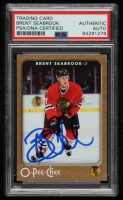 Brent Seabrook Signed 2006-07 O-Pee-Chee #117 (PSA Encapsulated) at PristineAuction.com