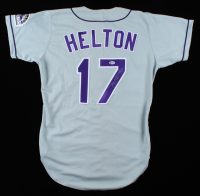 Todd Helton Signed Rockies Jersey (Beckett COA) (See Description) at PristineAuction.com