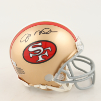 Joe Montana Signed 49ers Mini-Helmet (Fanatics Hologram) at PristineAuction.com