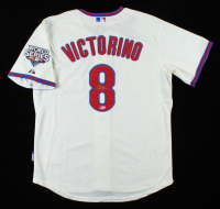 Shane Victorino Signed Phillies Jersey (Beckett COA) at PristineAuction.com