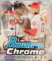 2018 Bowman Chrome Baseball Hobby Box of (12) Packs at PristineAuction.com