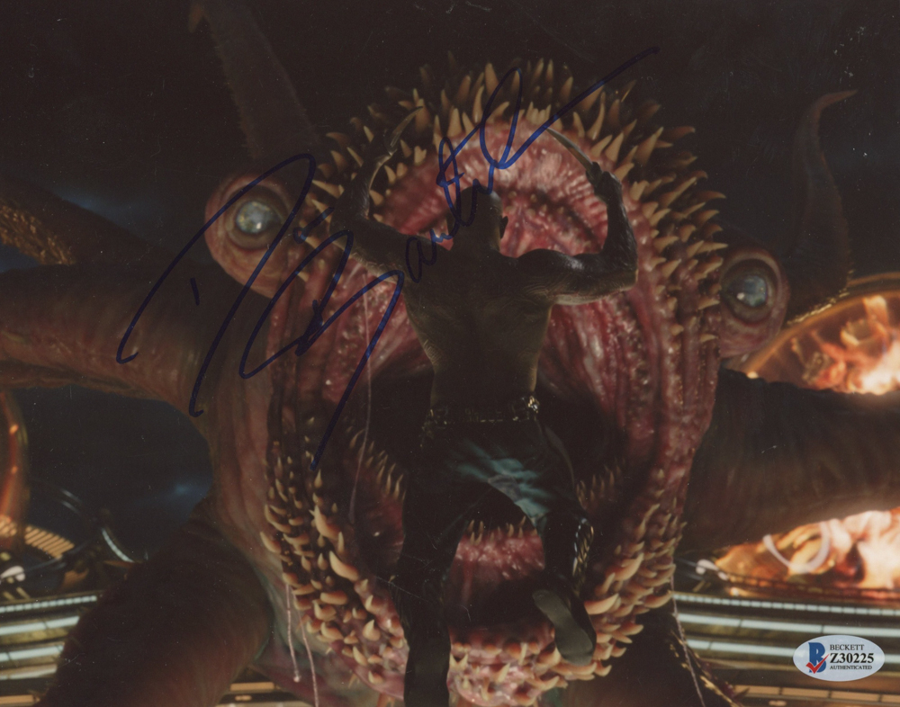 """Dave Bautista Signed """"Guardians of the Galaxy"""" 8x10 Photo (Beckett Hologram) at PristineAuction.com"""