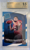 Patrick Mahomes II 2017 Donruss #327 RR RC (BGS 9.5) at PristineAuction.com