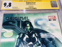 """Stan Lee Signed 2014 """"Original Sin"""" Issue #7 Gabriele Dell'Otto Variant Marvel Comic Book (CGC Encapsulated - 9.8) at PristineAuction.com"""