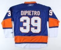 Rick DiPietro Signed Islanders Jersey (Beckett COA) at PristineAuction.com