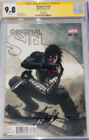 "Stan Lee Signed 2014 ""Original Sin"" Issue #8 Gabriele Dell'Otto Variant Marvel Comic Book (CGC Encapsulated - 9.8) at PristineAuction.com"