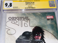 """Stan Lee Signed 2014 """"Original Sin"""" Issue #8 Gabriele Dell'Otto Variant Marvel Comic Book (CGC Encapsulated - 9.8) at PristineAuction.com"""