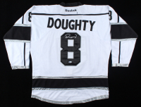 Drew Doughty Signed Kings Jersey (Beckett COA) (See Description) at PristineAuction.com