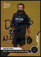 "Don Mattingly Signed 2020 Topps Now Offseason Award Winner Bonus #AW03B Inscribed ""2020 N.L. MOY"" (Beckett COA) at PristineAuction.com"