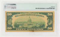 1928 $50 Fifty Dollars Commemorative Gold Certificate (PMG Gem Uncirculated) at PristineAuction.com