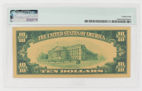 1928 $10 Ten Dollars Commemorative Gold Certificate (PMG Gem Uncirculated) at PristineAuction.com