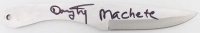 """Danny Trejo Signed Stainless Steel Knife Inscribed """"Machete"""" (Beckett COA) at PristineAuction.com"""