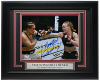 """Bullet"" Valentina Shevchenko Signed 11x14 Custom Framed Photo Inscribed ""Bullet"" (PSA COA) at PristineAuction.com"