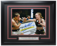 """Bullet"" Valentina Shevchenko Signed 16x20 Custom Framed Photo Inscribed ""Bullet"" (PSA COA) at PristineAuction.com"