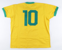 Pele Signed Brazil Jersey (Beckett COA) at PristineAuction.com