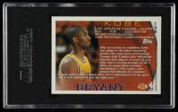 Kobe Bryant 1996-97 Topps #138 RC (SGC 8) at PristineAuction.com