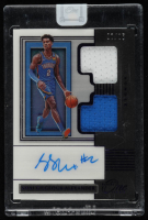 Shai Gilgeous-Alexander 2019-20 Panini One and One Dual Jersey Autographs Purple #17 at PristineAuction.com