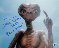 "Matthew DeMeritt Signed ""E.T.: The Extra Terrestrial"" 8x10 Photo Inscribed ""(E.T.) Phone Home! (Beckett COA) at PristineAuction.com"