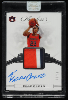 Isaac Okoro 2020-21 Panini Flawless Collegiate Signature Prime Materials #3 at PristineAuction.com