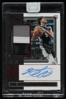 De'Aaron Fox 2019-20 Panini One and One Jersey Autographs Red #17 at PristineAuction.com