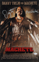"Danny Trejo Signed ""Machete"" 11x17 Photo Inscribed ""Machete"" (Beckett COA) at PristineAuction.com"