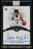 Jaden McDaniels 2020-21 Panini Flawless Collegiate #76 Autograph at PristineAuction.com