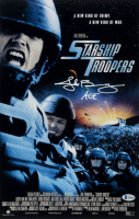 "Jake Busey Signed ""Starship Troopers"" 11x17 Photo Inscribed ""Ace!"" (Beckett COA) at PristineAuction.com"