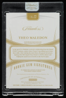 Theo Maledon 2020-21 Panini Flawless Collegiate #77 Autograph at PristineAuction.com