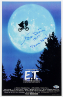 "Matthew DeMeritt Signed ""E.T.: The Extra Terrestrial"" 11x17 Photo Inscribed ""(E.T.) Phone Home! (Beckett COA) at PristineAuction.com"