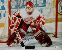 Chris Osgood Signed Red Wings 16x20 Photo (PSA Hologram) at PristineAuction.com