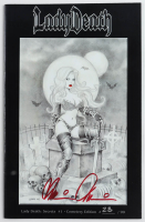 "Brian Pulido Signed LE 2013 ""Lady Death: Secrets"" Issue #1 Coffin Comic Book (Beckett COA) at PristineAuction.com"