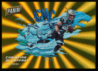 Christian McCaffrey 2020 Panini On The Horizon Gold #OH7 at PristineAuction.com
