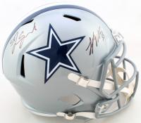 Leighton Vander Esch & Jaylon Smith Signed Cowboys Full-Size Speed Helmet (JSA COA) at PristineAuction.com