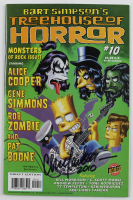 "Chris Yambar Signed 2003 ""Bart Simpson's: Treehouse of Horror"" Issue #10 Otter Press Comic Book (Beckett COA) at PristineAuction.com"