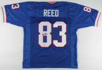 "Andre Reed Signed Jersey Inscribed ""HOF 14"" (Beckett COA) at PristineAuction.com"