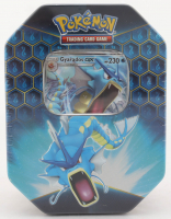 Pokemon TCG: Hidden Fates Tin - Gyarados at PristineAuction.com