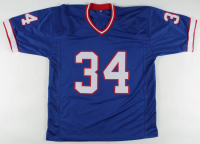 Thurman Thomas Signed Jersey (Beckett COA) at PristineAuction.com