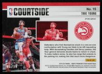 Trae Young 2019-20 Hoops Premium Stock Courtside Gold #15 at PristineAuction.com