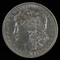 1891 Morgan Silver Dollar at PristineAuction.com