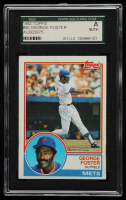 George Foster Signed 1983 Topps #80 (SGC Encapsulated) at PristineAuction.com