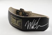 Mike Tyson Signed Everlast Leather Workout Belt (PSA COA) (See Description) at PristineAuction.com