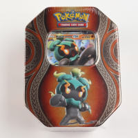 Pokemon TCG: Mysterious Powers GX Tin with Marshadow-GX at PristineAuction.com