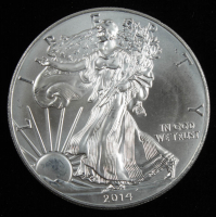 2014 Walking Liberty $1 Silver Dollar Coin at PristineAuction.com