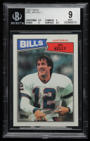 Jim Kelly 1987 Topps #362 RC (BGS 9) at PristineAuction.com
